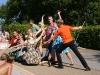 Tanzgruppe Fitschebeen zu Besuch