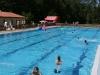 Schwimmfreunde im großen Becken