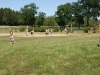 Aktion auf den Volleyballfeldern