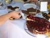 Hausgebackener Kuchen für die Gäste